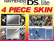 nintendo DS Lite MOTOCROSS MOTO X -4 Piece Decal Sticker Skin UK