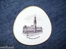 echter Stahlstich Hamburg Rathaus Teller Lindner Kueps Bavaria