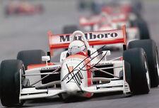 Gil De Ferran mano firmado Indianapolis 500 Winner Foto 12x8 2.
