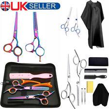 "6"" 7"" Hairdressing Scissors Shear Set Kits Salon Barber Hair Cutting / Thinning"