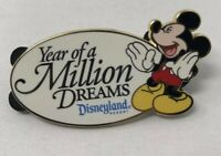 DLR Year of a Million Dreams Mickey Mouse Gift Pin Disneyland Resort 2008 Disney