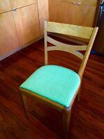 Mid-Century Modern Heywood Wakefield Single Bow Side/Dining Chair