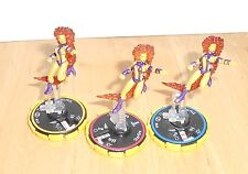 HERO CLIX - DC ICONS - STARFIRE  - FIGURE SET   R,E,V  - WITHOUT CARDS