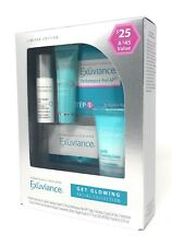 Exuviance Essentials Set for Normal Skin - 5 Piece Kit - GET GLOWING FACIAL NIB