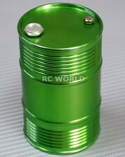 RC 1/10 Scale Accessories METAL ALUMINUM DRUM CONTAINER Liquid Storage GREEN