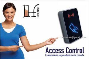 Lettore card per apertura porte controllo accessi per camere B&B Hotel Alberghi