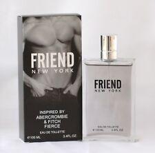 FRIEND NEW YORK MEN TOILETTE PERFUME 3.4 OZ inspired ABERCROMBIE & FITCH FIERCE
