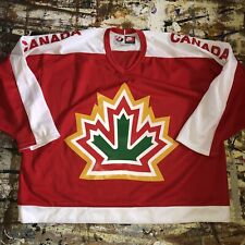 NWOT Nike Red Team Canada 1977 World Championships Hockey Jersey Size XXL