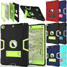 For Apple iPad 2/3/4 Shockproof Heavy Duty Rugged Defender Case with Kick Stand