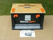 Black & Decker Workmate Portable Project Center Clamp Set Tool Box