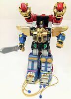 Vtg MMPR Power Rangers Zeo Megazord + Battlezord (fists motor works) 1996 Bandai