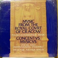 Arthur Maud - Polish Renaissance Music LP VG+ Private Press Classical MN USA 70s