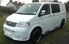 VW T5 BODY KIT transporter panel van front bumper spoiler sportline (add-on). +