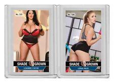 Leanne Crow rare MH Shade Grown #'d 3/3 Tobacco card no. 533