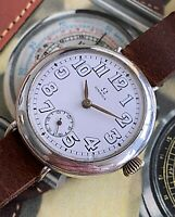 Awesome 1914-1915 Omega WW1 Trench Watch - A Stunning Watch