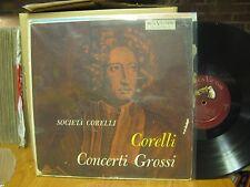 Corelli Concerti Grossi LP RCA Shaded Dog LM 1776 Mono Societa Corelli