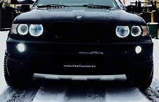 BMW X5 E53 Front Decorative Spoiler Skid Plate bumper guard SUV truck add on