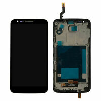 For LG Optimus G2 D802 LCD Display Touch Screen Digitizer Assembly+Frame tested