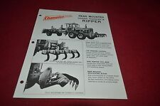 Champion Motor Grader Rear Mounted Ripper Scarifier Dealer's Brochure Dcpa6