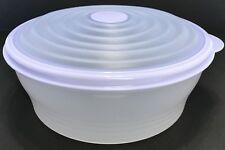 Tupperware Stuffables Bowl Blueberry Mist Blue 6 Cup Capacity Container New