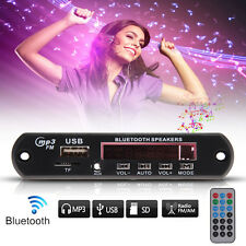 12V LED Bluetooth Stereo MP3 Player Decoder Board SD/USB/AUX/FM + Remote Control