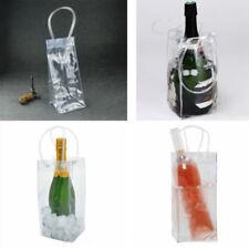 Ice Bag Wine Beer Champagne Bucket Drink Bottle Cooler Chiller Foldable Carrier