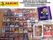 Panini EURO 2012 POLAND UKRAINE Complete Full STICKER Set ALBUM +20 Topps Merlin