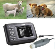 Handheld Free HandsVeterinary Ultrasound Scanner Portable Rectal Probe  Dog A+