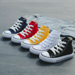 Top Canvas Converse Shoe Sneakers Girl Kids Children's Shoes High/Low Casual Boy