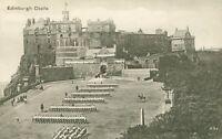 Edinburgh Castle Military Regimental Parade postcard (Valentines, no. 231) 1890s