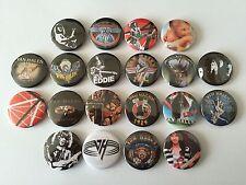 20 Van Halen button badges One Two Jump 1984 Hair Metal Motley Crue Eddie OU812