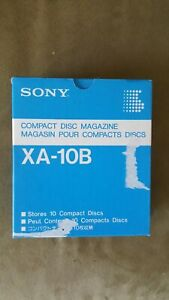 Sony XA-10B 10-Disc Automatic Compact DIsc/CD Magazine Changer Cartridge