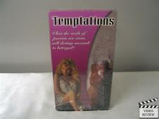 Temptations VHS Lauren Hays Monique Parent Jay Huguley Brad Bartram Cliff Potts