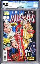 New Mutants: Facsimile Edition #98 CGC 9.8 NM/M Reprint New Mutants #98 2019