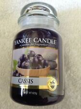 Yankee candle 'Cassis' large jar