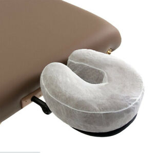 Disposable Massage Table Head Rest Cradle Cushion Covers Non Woven - 4Bags