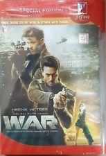 WAR - ORIGINAL BOLLYWOOD HINDI DVD [& FREE CD]