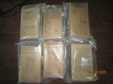 SOPAKCO MRE Emergency Survival Military Ration 1 Case of 6 Meals Low Sodium