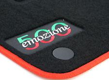 passend für Fiat 500 Autofußmatten Autoteppiche Fußmatten ab 2013 -   Lrru