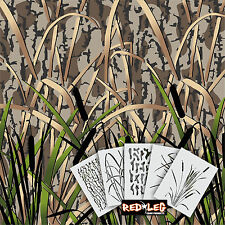 Redleg Camo DG5 - 5 Piece Camouflage stencil kit  **18x26** duck boat wall