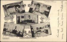 Morristown Nj Washington Hqs Multi-View c1905 Postcard