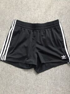 Adidas Ladies Black Shorts Size Uk12