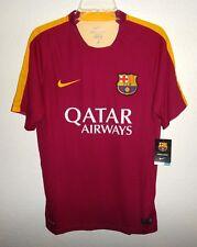 Nwt Mens M Nike Dri-Fit Fcb Football Club Barcelona Soccer Jersey Barca Rare