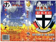 AFL: HEAVEN AND HELL: 100 YEARS OF THE SAINTS {1997} *RARE VHS TAPE*  AFL,