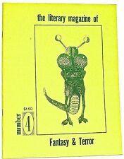 THE LITERARY MAGAZINE OF FANTASY & TERROR—Volume One Number 4 (1974) Salmonson