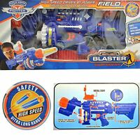 Super Blaster Style Rapid Fire Gun With 40 Soft Darts With Eye Safety Glasses