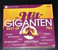 La Hit Giganten Best Of 70S 3 CD Box Dans Digipak Avec 63 Titre Neuf & Ovp