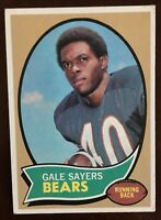 1970 Topps Gale Sayers #70 Chicago Bears