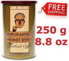 Kurukahveci Mehmet Efendi Turkish Coffee 250gr/8.8 oz Can Same Day FREE SHIPPING