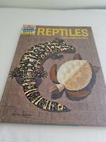 The How & Why Wonder Book of REPTILES & AMPHIBIANS 1960 Hardcover
